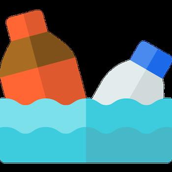 La isla de basura